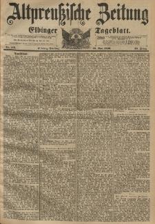 Altpreussische Zeitung, Nr. 116 Dienstag 19 Mai 1896, 48. Jahrgang