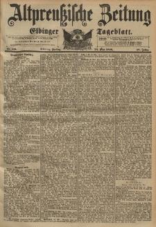 Altpreussische Zeitung, Nr. 119 Freitag 22 Mai 1896, 48. Jahrgang