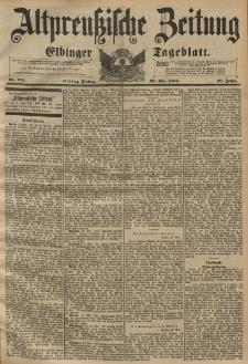 Altpreussische Zeitung, Nr. 124 Freitag 29 Mai 1896, 48. Jahrgang