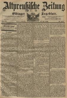 Altpreussische Zeitung, Nr. 126 Sonntag 31 Mai 1896, 48. Jahrgang