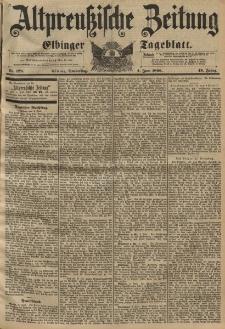 Altpreussische Zeitung, Nr. 129 Donnerstag 4 Juni 1896, 48. Jahrgang