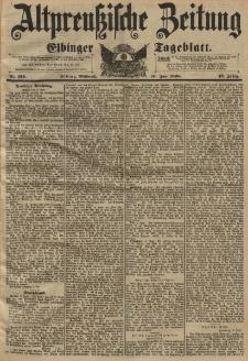 Altpreussische Zeitung, Nr. 134 Mittwoch 10 Juni 1896, 48. Jahrgang