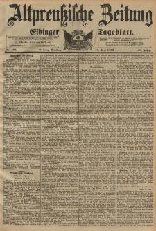 Altpreussische Zeitung, Nr. 139 Dienstag 16 Juni 1896, 48. Jahrgang