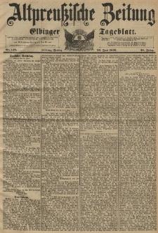 Altpreussische Zeitung, Nr. 148 Freitag 26 Juni 1896, 48. Jahrgang