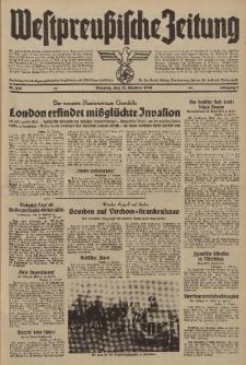 Westpreussische Zeitung, Nr. 243 Dienstag 15 Oktober 1940, 9. Jahrgang