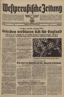 Westpreussische Zeitung, Nr. 256 Mittwoch 30 Oktober 1940, 9. Jahrgang
