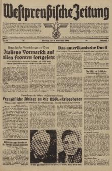 Westpreussische Zeitung, Nr. 261 Dienstag 5 November 1940, 9. Jahrgang