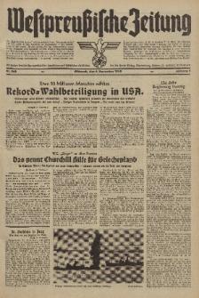 Westpreussische Zeitung, Nr. 262 Mittwoch 6 November 1940, 9. Jahrgang