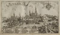 Miasta i zamki na starych rycinach